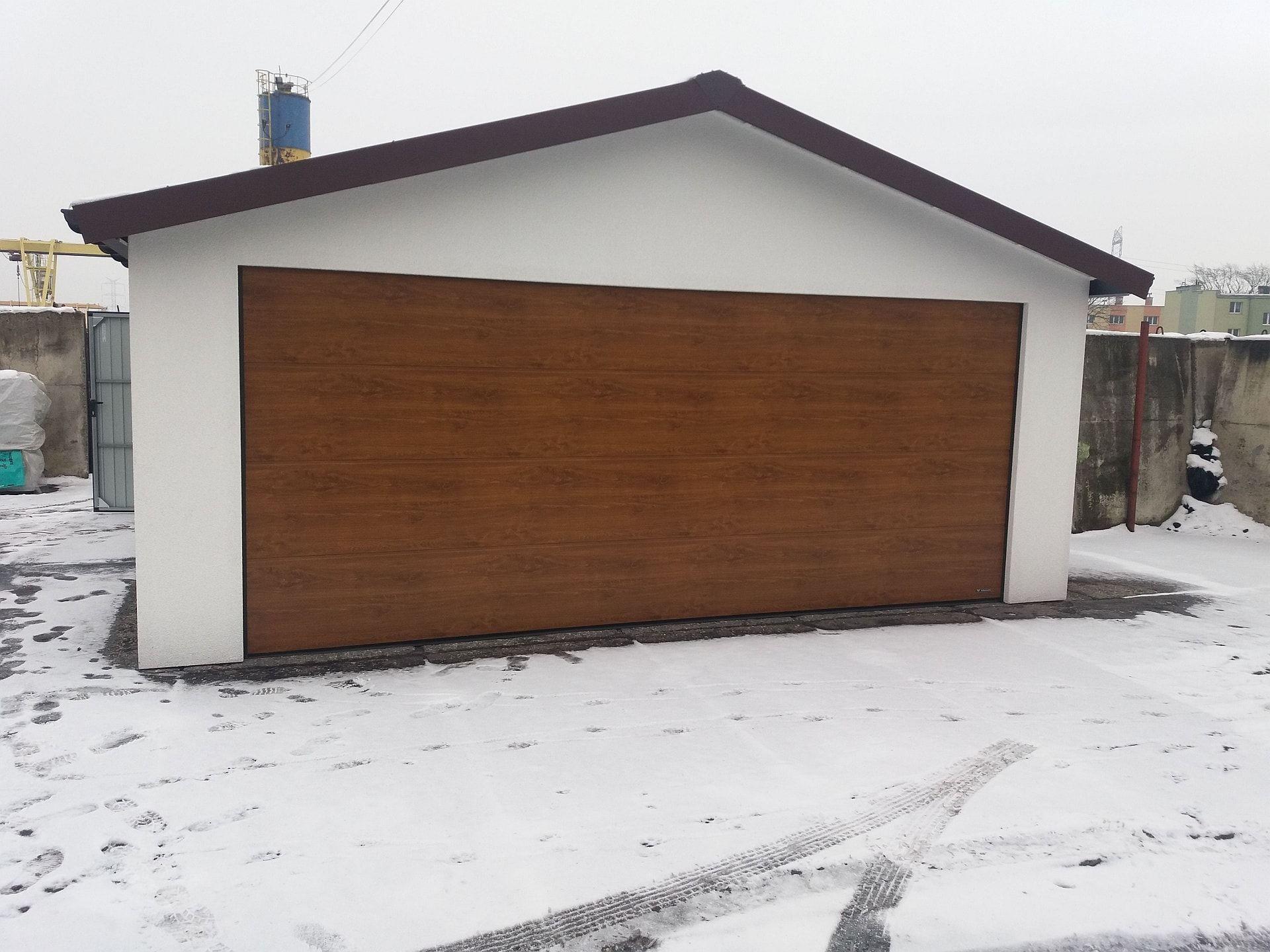 Garaże Tynkowane Stalowe Hetman Garaż Blaszany